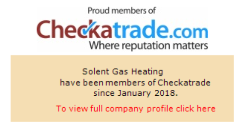 Solent Gas Heating is a member of Checkatrade