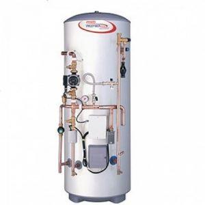 Plumbing for hot water tanks